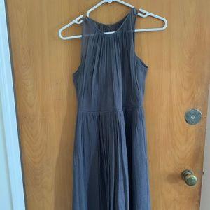 J Crew Chiffon Bridesmaid Dress